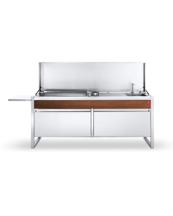 PLA.NET Outdoorküche OASI 205-C5, fertiges Küchensystem